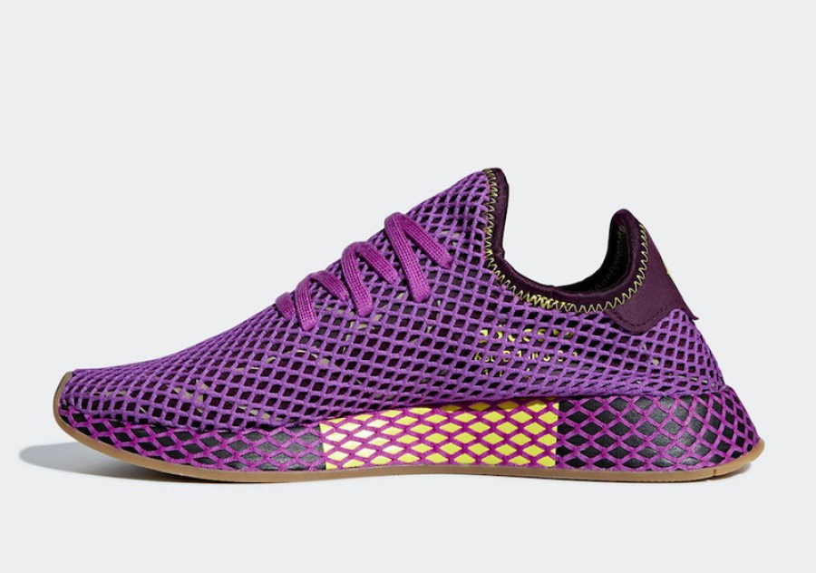 """6af1691ac33a3 Check out the official photos of the Dragon Ball Z x adidas Deerupt """"Son  Gohan"""" via Sneakerbardetroit below."""