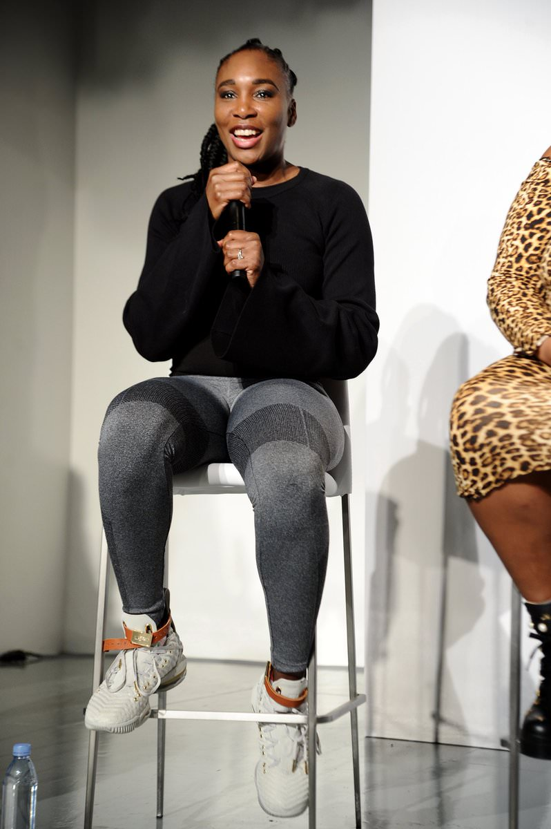 Venus Williams in the Nike Lebron 16 HFW