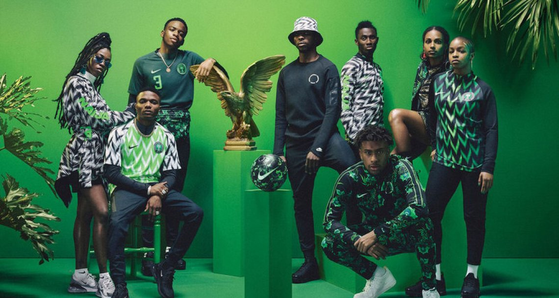 Nigeria 2018 World Cup Kit