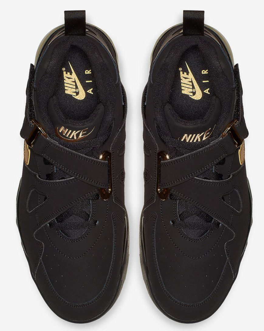 huge discount f2388 9a0ee ... Nike Air Force Max CB Black Metallic Gold