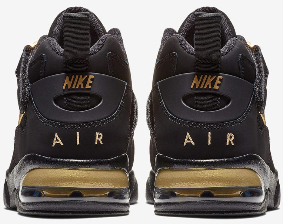 Nike Air Force Max CB Black/Metallic Gold