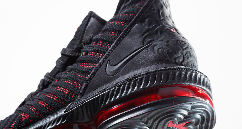 """d06e26543d5 Inside the Design of the Nike LeBron 16 """"Fresh Bred"""""""