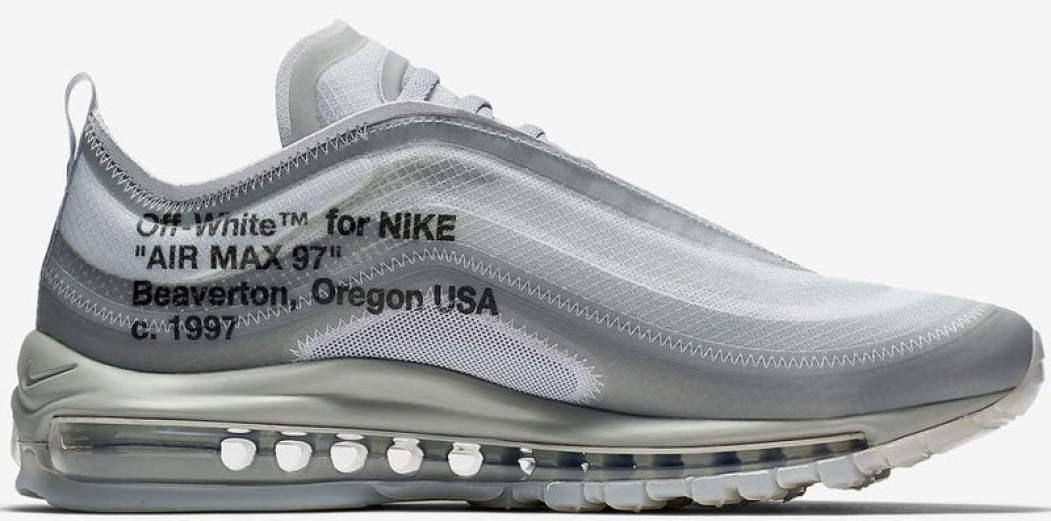 """OFF WHITE x Nike Air Max 97 """"Menta"""""""