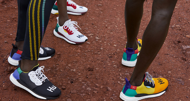 8e4df9a83 Pharrell Looks to African Distance Running Culture for adidas SOLARHU  Sneaker