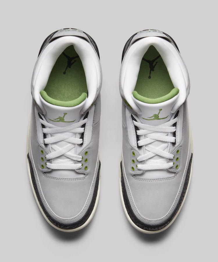 "Air Jordan 3 ""Chlorophyll"""