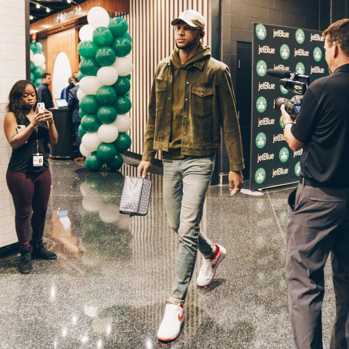 Ben Simmons in the Nike Air Force 1 Low