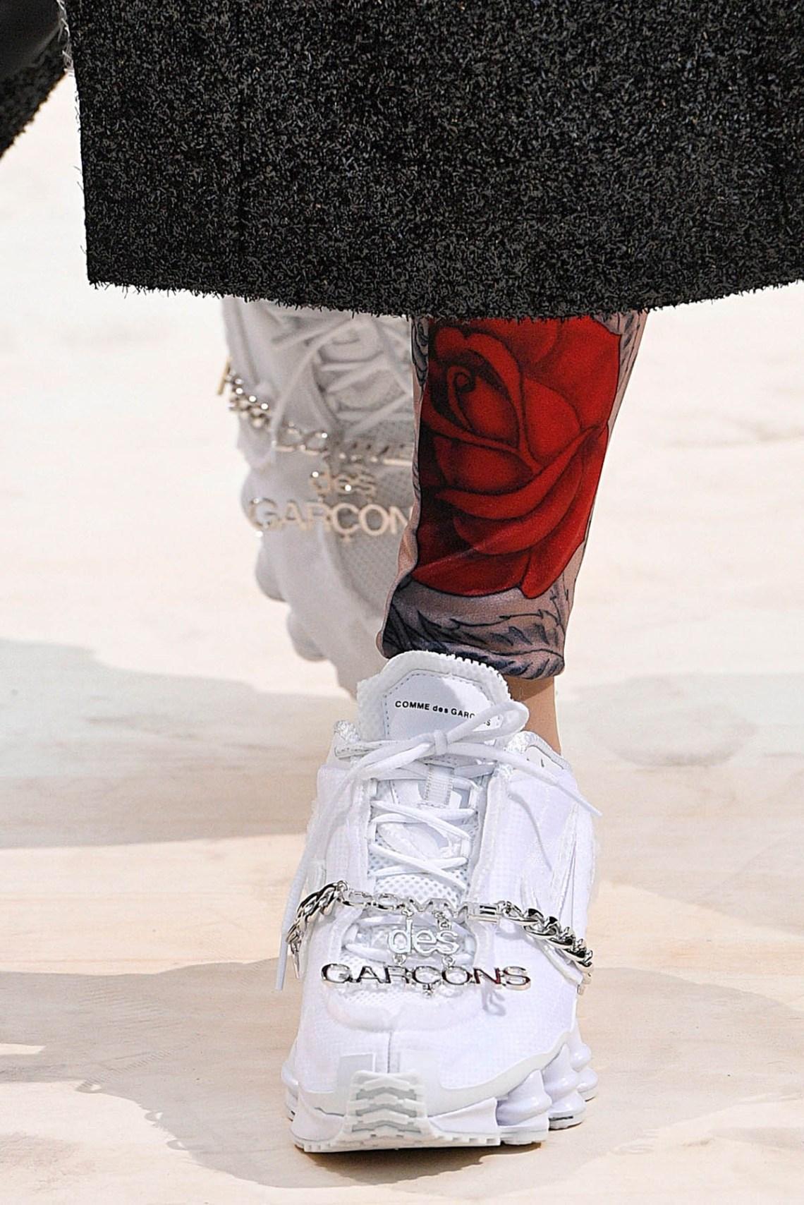 COMME des GARÇONS x Nike Shox