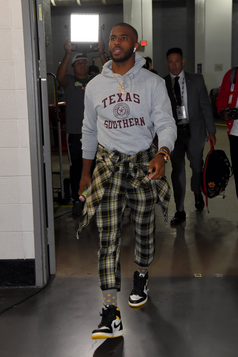 Chris Paul in the Air Jordan 1 Retro High OG 'Not For Sale'
