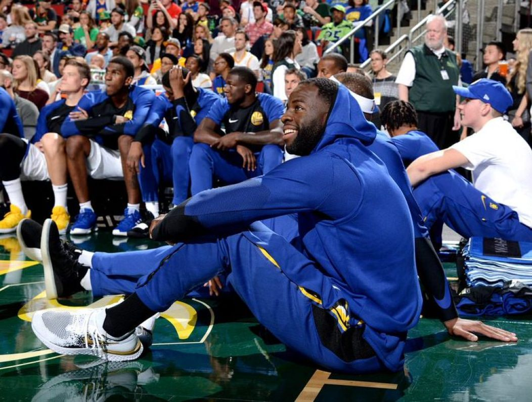 "Draymond Green in the Nike Epic React Flyknit ""Golden State Warriors"""