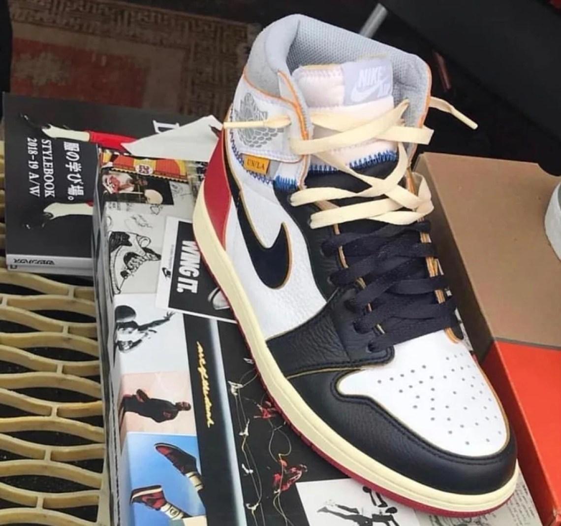 ad2b04fdbe2780 Union x Air Jordan 1 High A First Look