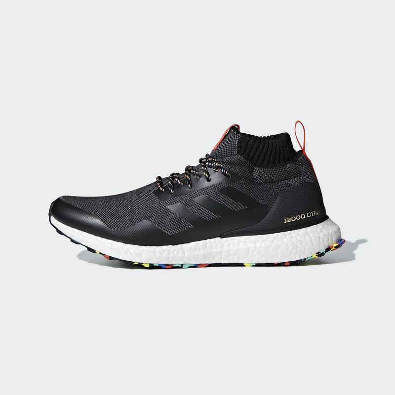 ca3ac587c90 adidas Ultra Boost Mid  Black Multicolor