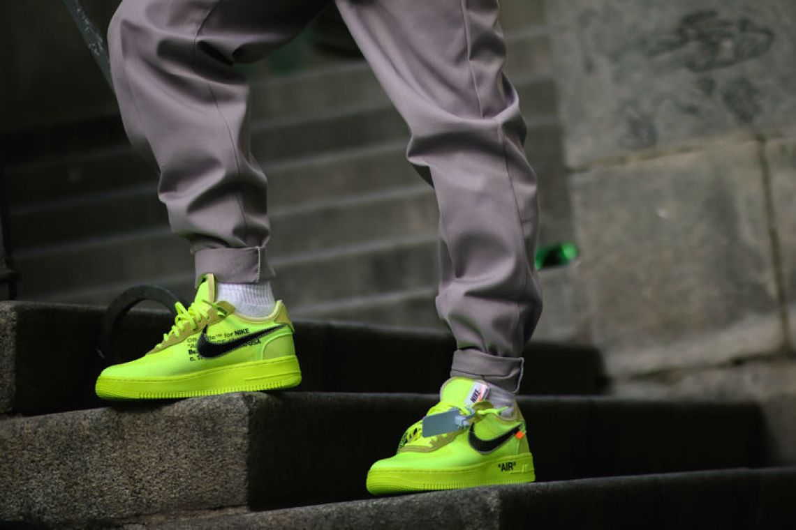 a6e0cc96e0a Can Virgil Bring Volt Back With Off White x Nike Air Force 1
