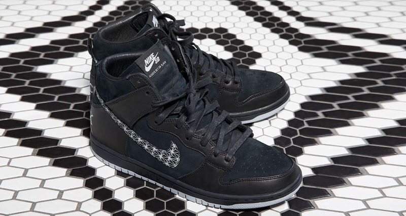 ed7f18bfb4e3df BLACK Skate Bar Enlists Neckface for Nike SB Collab. Oct 23