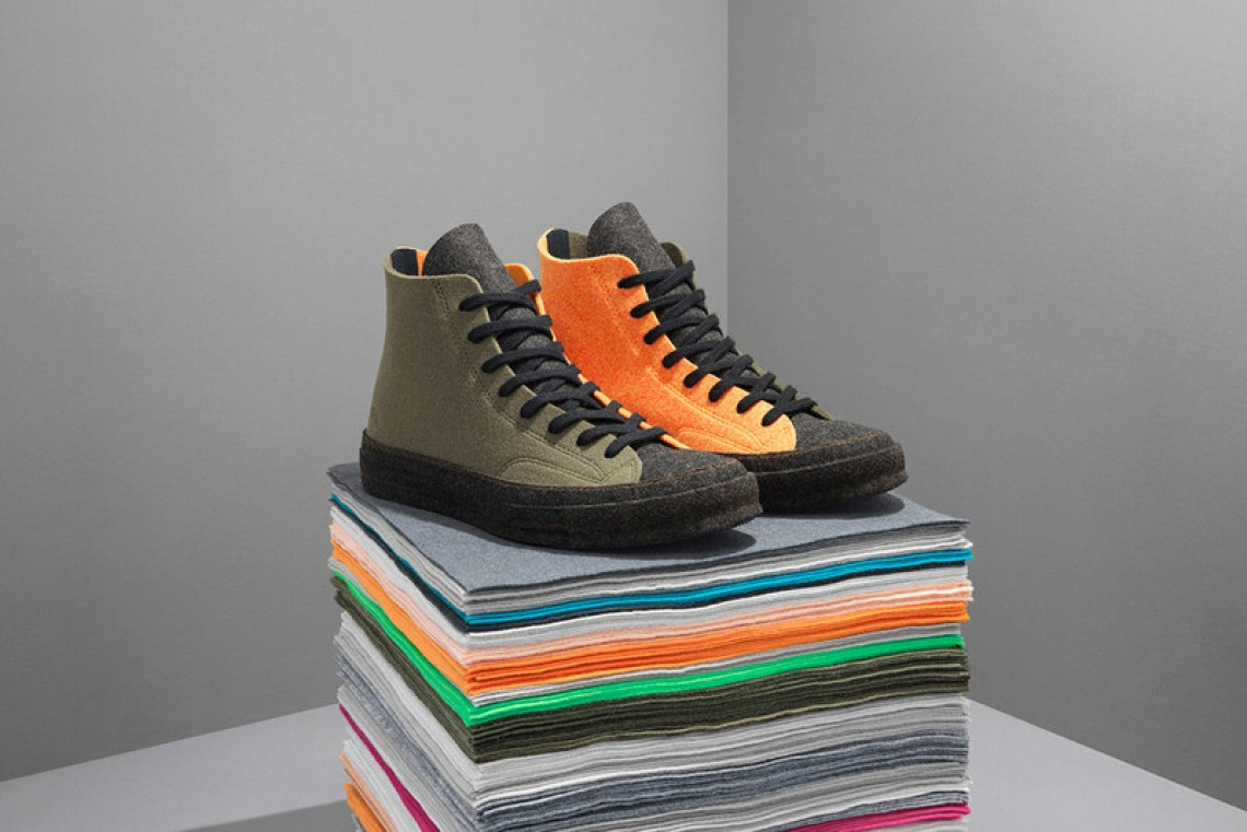 J.W. Anderson x Converse Chuck 70 Felt Collection