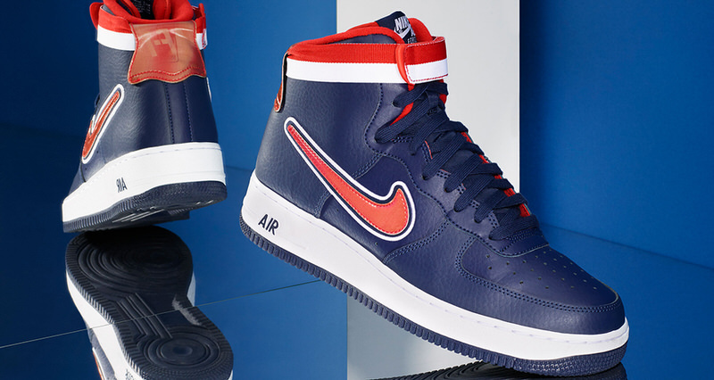 """8aff0000713c2 Nike Air Force 1 """"NBA Pack"""" Honors Sneaker s Longtime Link to the  Association"""