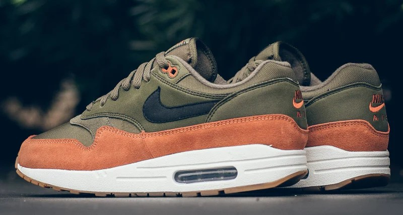 """finest selection 71898 b3c39 Nike Air Max 1 """"Olive Canvas"""" Carries Flight Jacket Hues"""