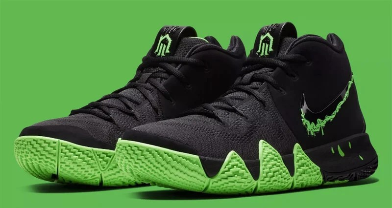 "Nike Kyrie 4 ""Halloween"" is Dripping in Slime 13ee2ea55"