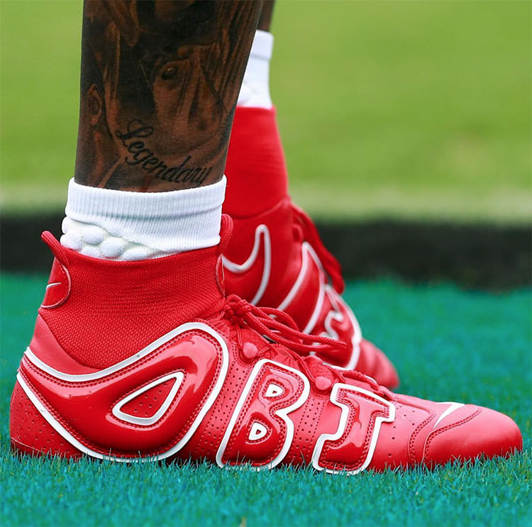 Odell Beckham Jr Has Been Rocking Heat This Season Nice