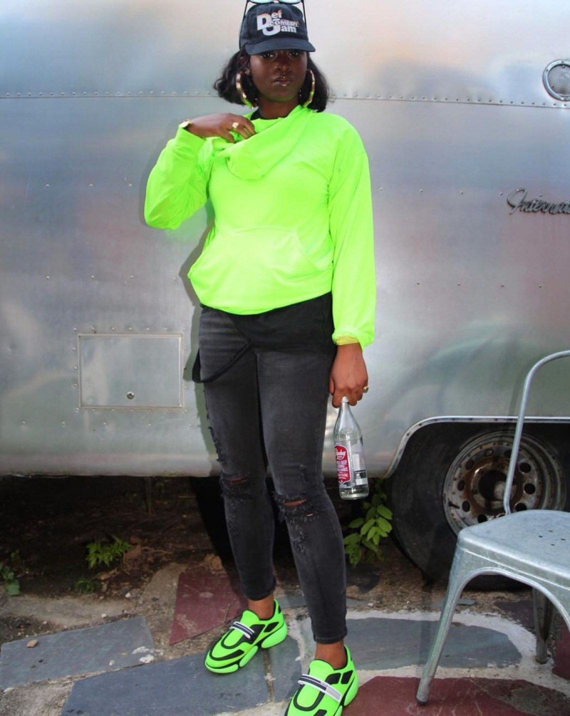 Tierra Whack in the Prada Sneaker