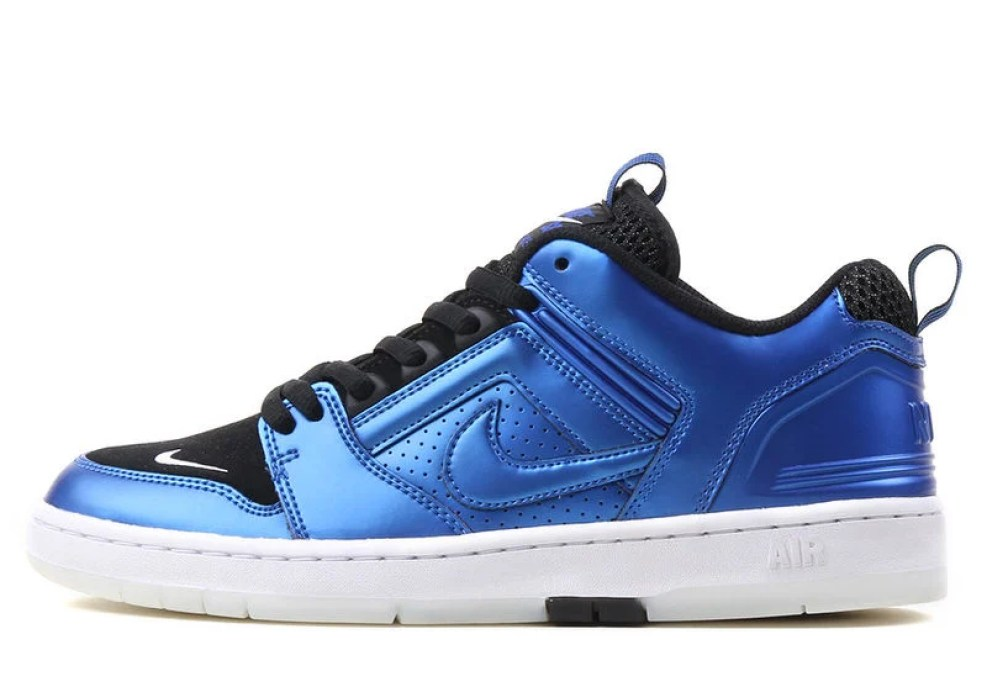 info for f92a9 b54a9 Taking the basketball-built Air Force 2 Low and turning it into a skate shoe,  the Zoom Air assisted model reborn for the board channels Penny Hardaway's  ...