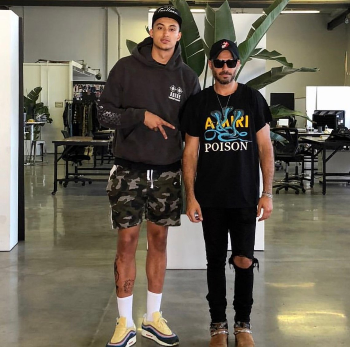 What's crazy is that Kuz actually knows Mike Amiri in person too.