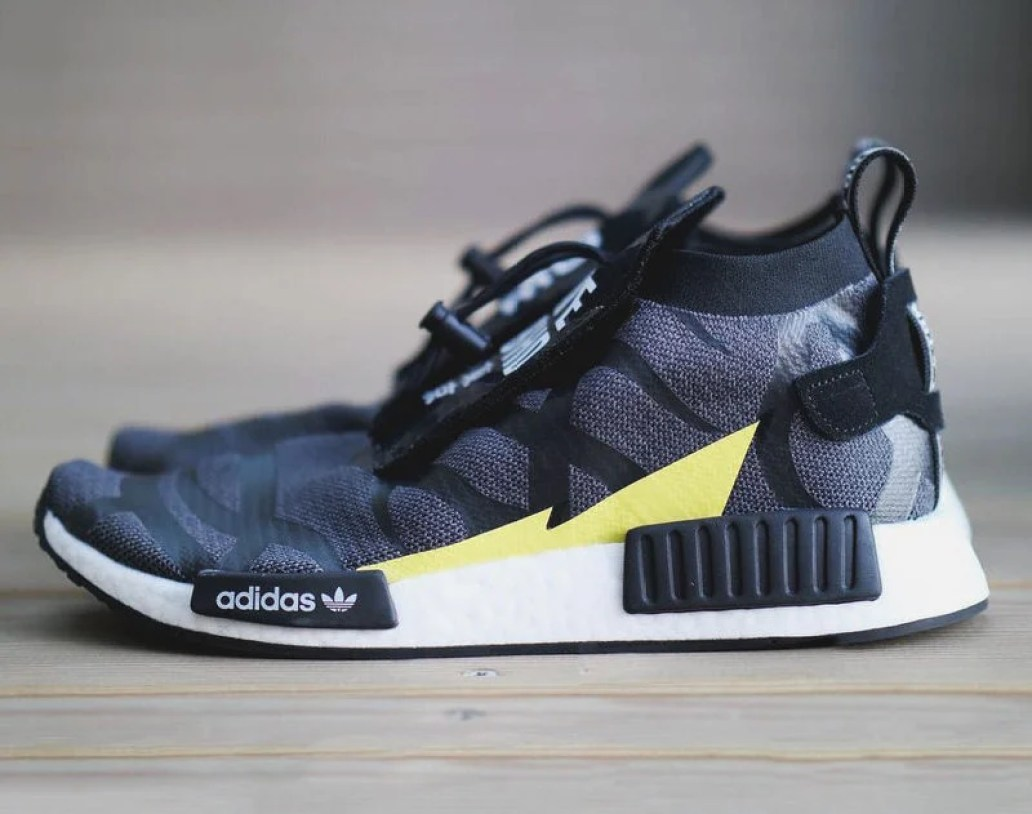 more photos 2aefe 821c9 photo via  Shawnlee1978. UPDATE 12 31  Confirmed by HYPEBEAST, the Bape x  Neighborhood x adidas NMD will release on January 2nd ...