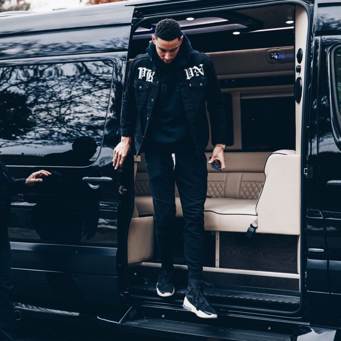 Ben Simmons in the Nike Air Fear of God