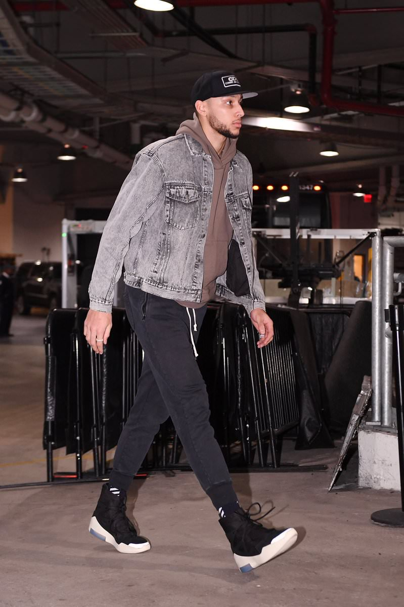 Ben Simmons in the Nike Air Fear of God 1