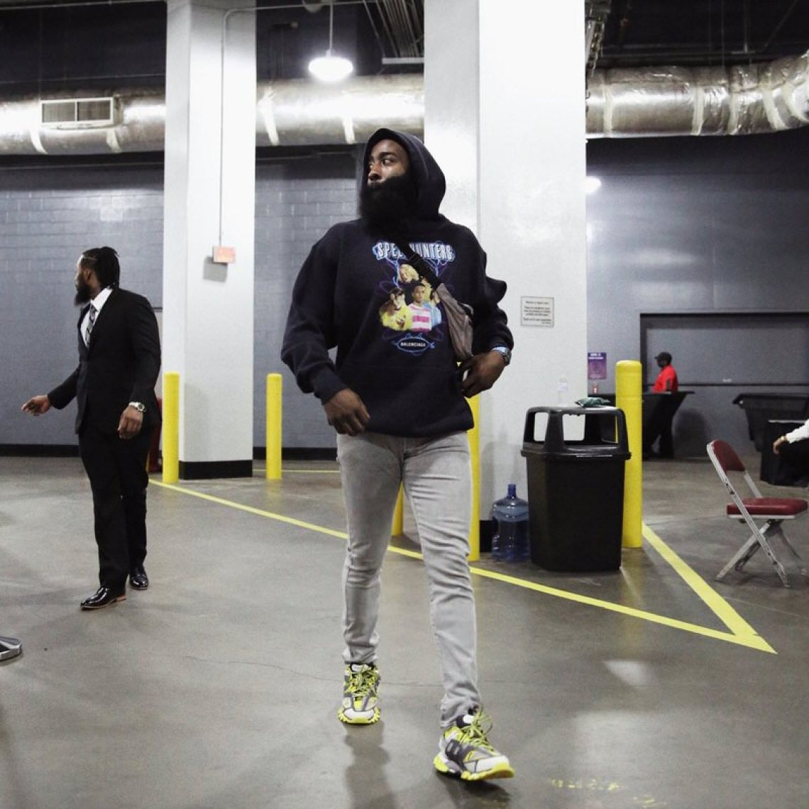James Harden in the Balenciaga Track Sneakers