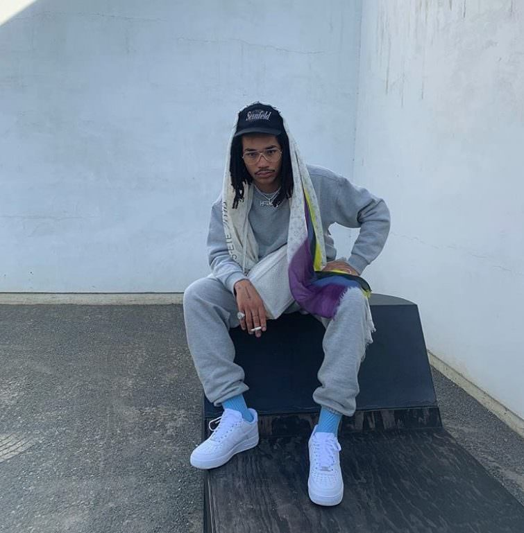 Luka Sabbat in the Nike Air Force 1 Low