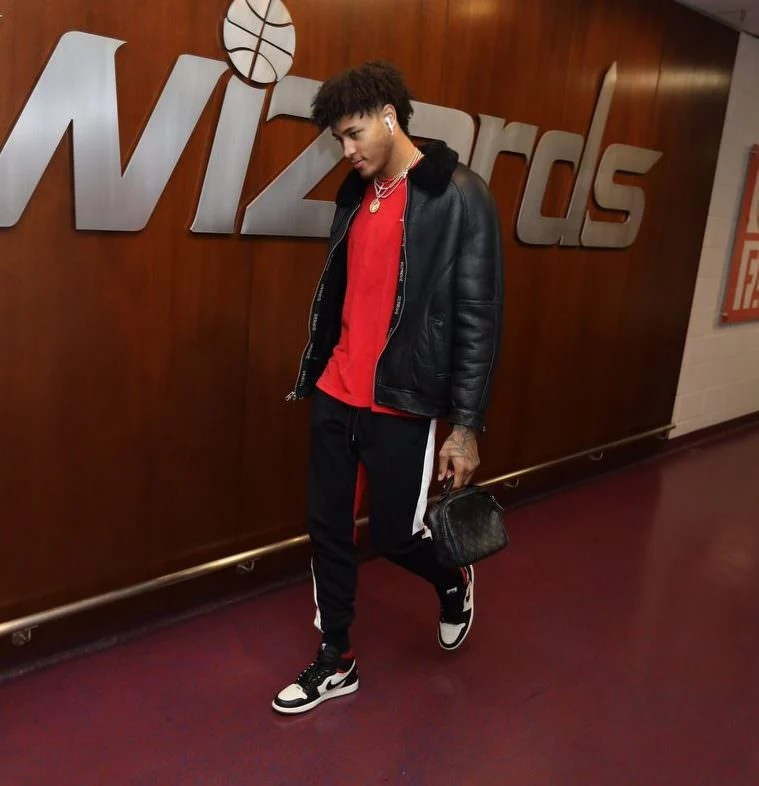 "Kelly Oubre in the Air Jordan 1 Retro High OG ""Not For Resale"""