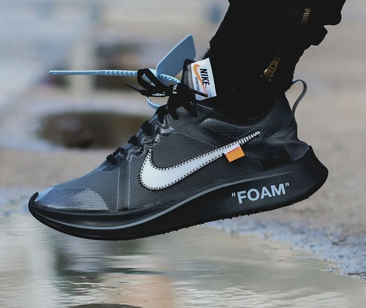 """Off White x Nike Zoom Fly SP """"Black"""""""