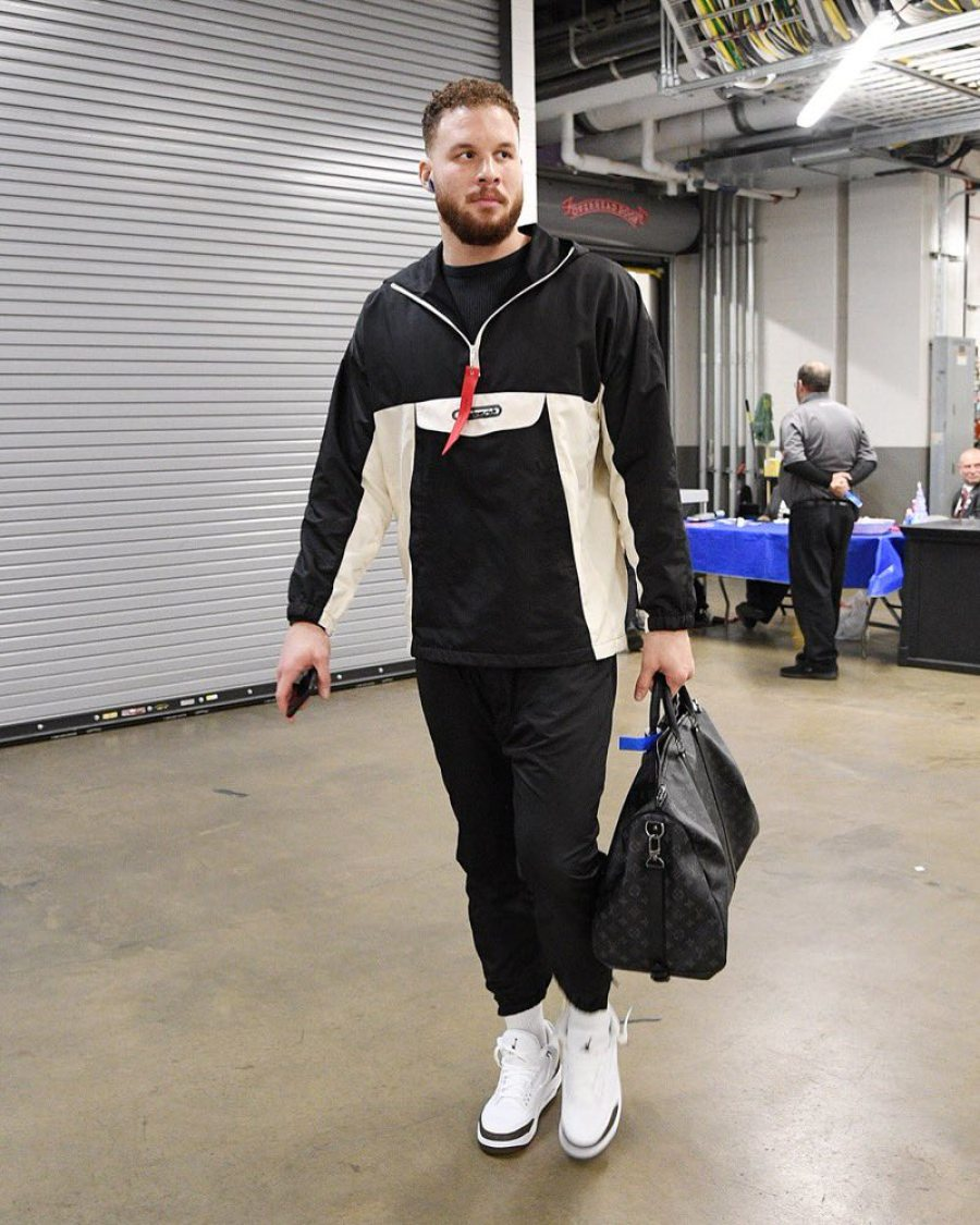 "Blake Griffin in the Air Jordan 3 Retro ""Mocha"""