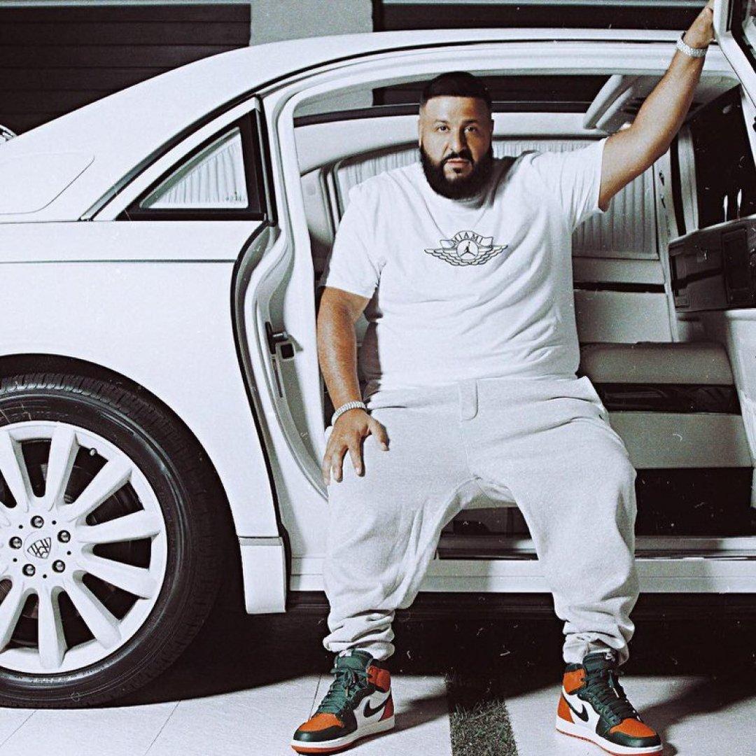DJ Khaled in the Solefly x Air Jordan 1 Retro High OG
