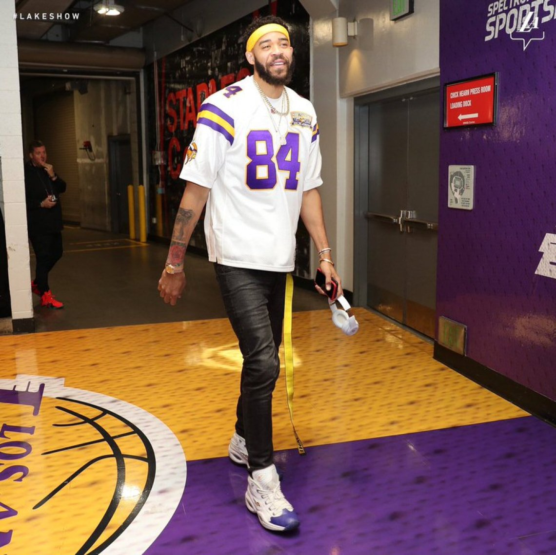 Javale McGee in the Reebok Question