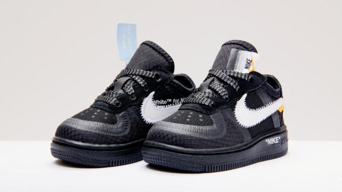Off-White Air Force 1s Releasing in Kids Sizes