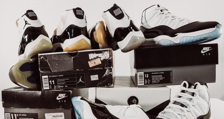 "sale retailer 83af2 6d1cf Air Jordan 11 ""Concord""    Throwback Thursday"
