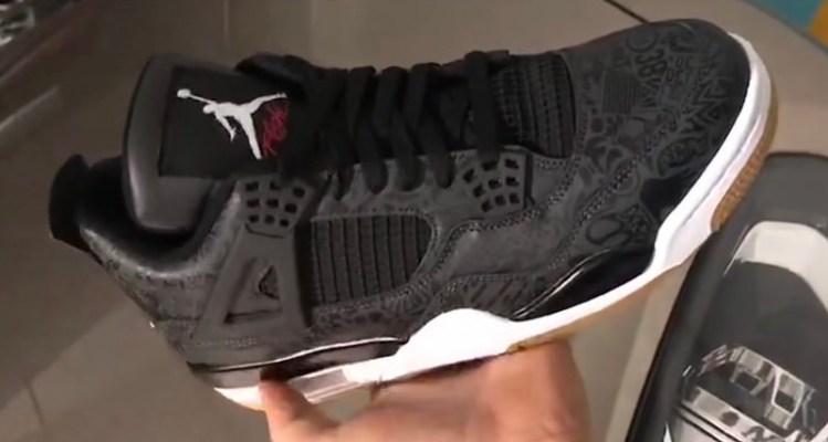 """Air Jordan 4 """"Black Laser"""""""
