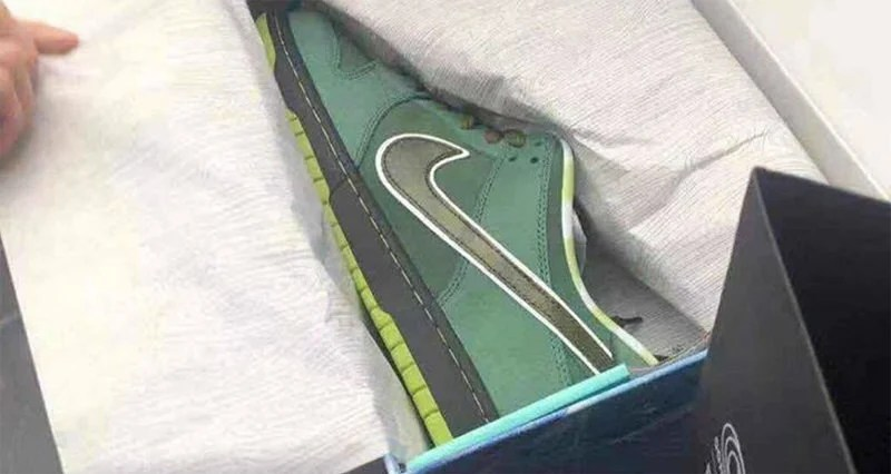 b74e20b038dc ... ireland concepts x nike sb dunk low green lobster releases in shanghai  77c52 43057