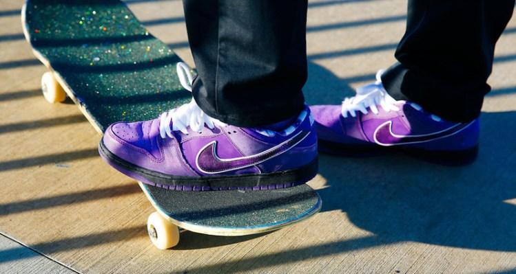 "Concepts x Nike SB Dunk Low ""Purple Lobster"""