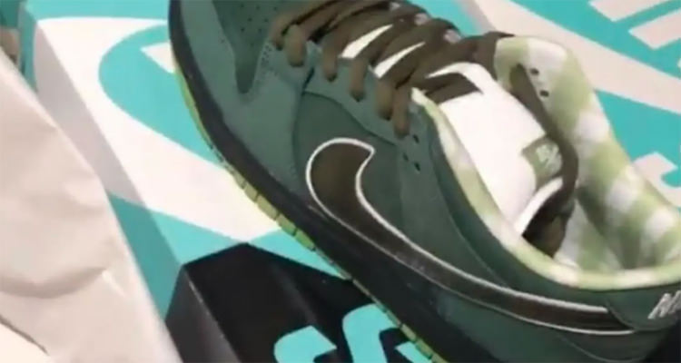 "Concepts x Nike SB Dunk Low ""Green Lobster"""