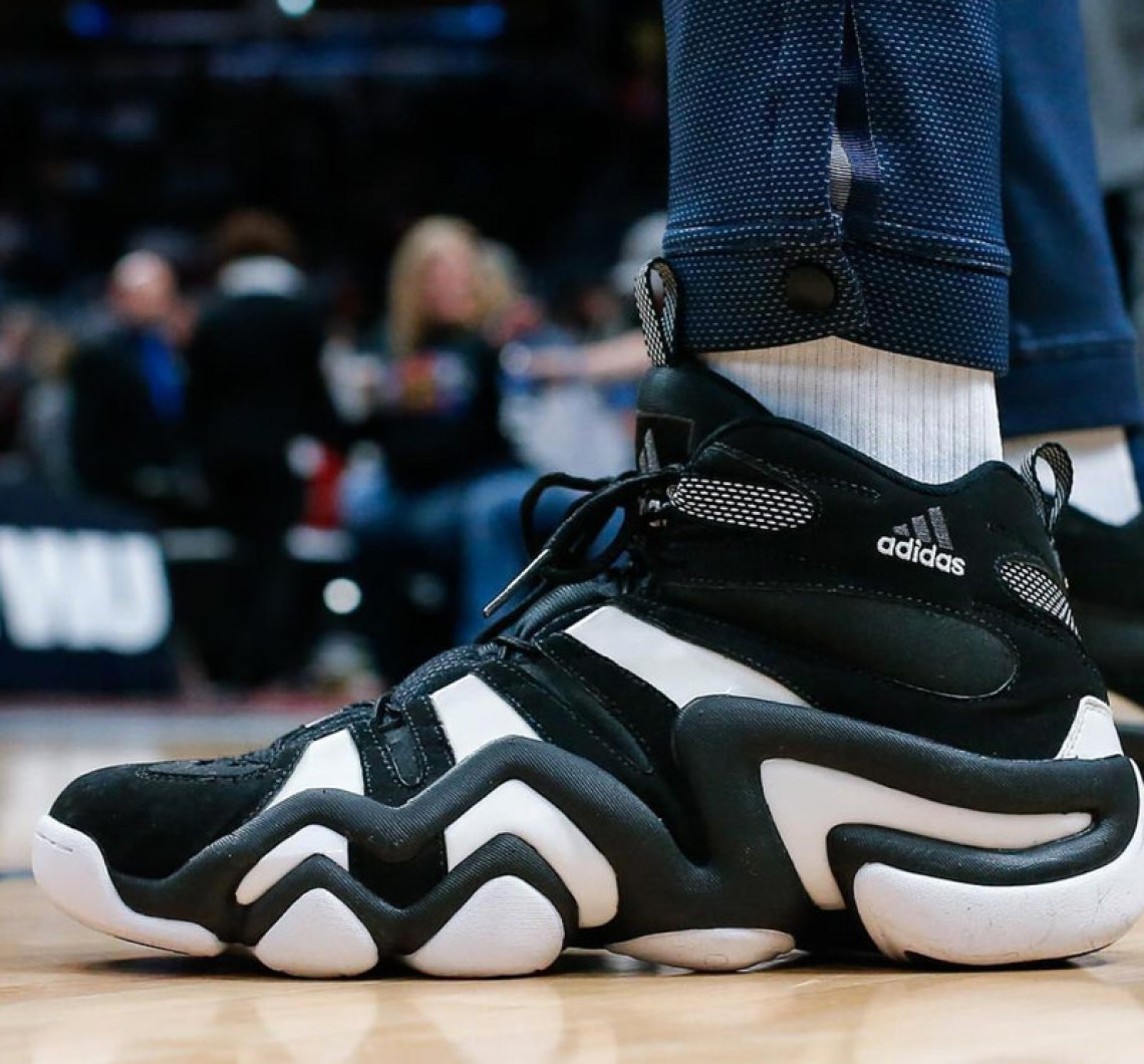 f049ce7c8be3 Nick Young in the adidas Crazy 8 (photo by Isaiah J. Downing via Sole  Collector)