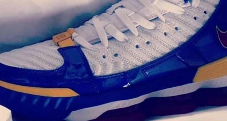 "Nike LeBron 16 ""Superman"""