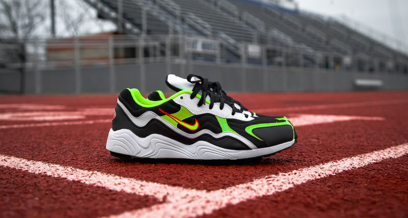 innovative design c0b1a 95213 Another Look at the Nike Zoom Alpha Black Volt