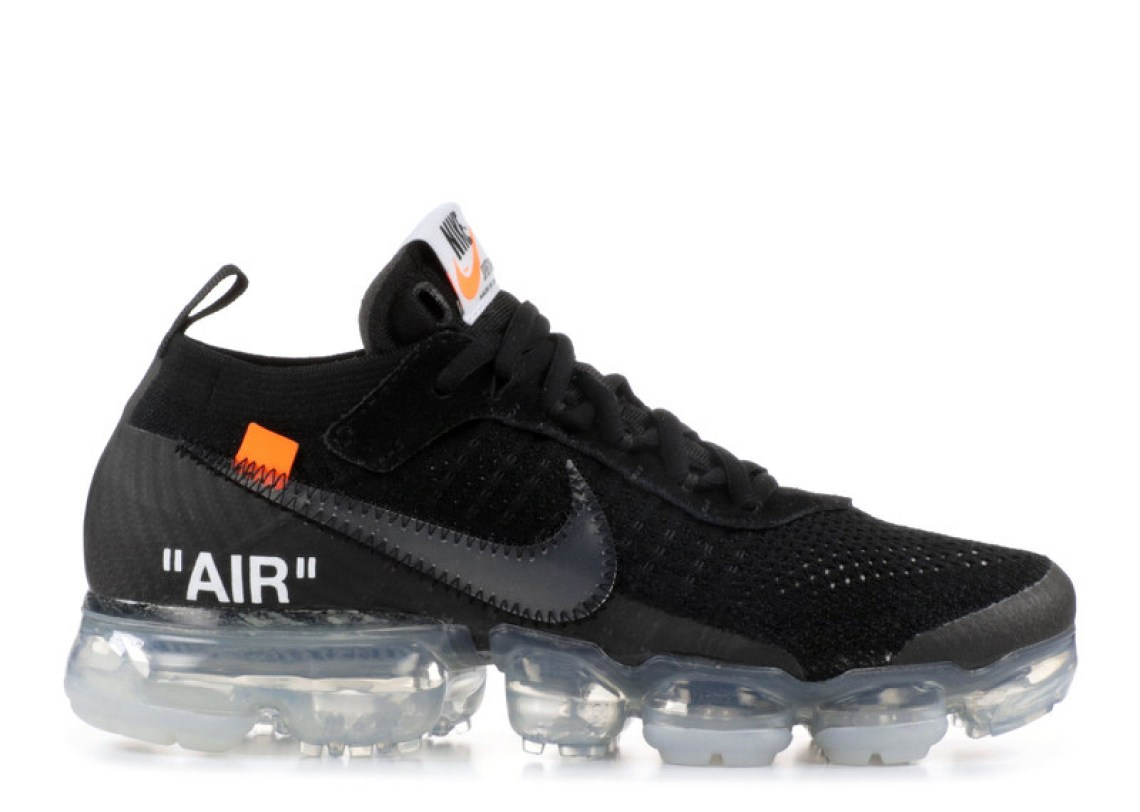 "best authentic 3b0f2 74fdf Off-White x Nike Air VaporMax ""The 10"" Black Black. Release ..."