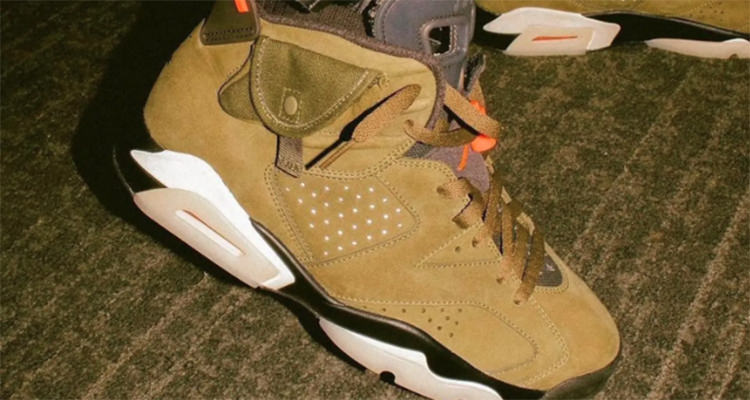 Travis Scott x Air Jordan 6