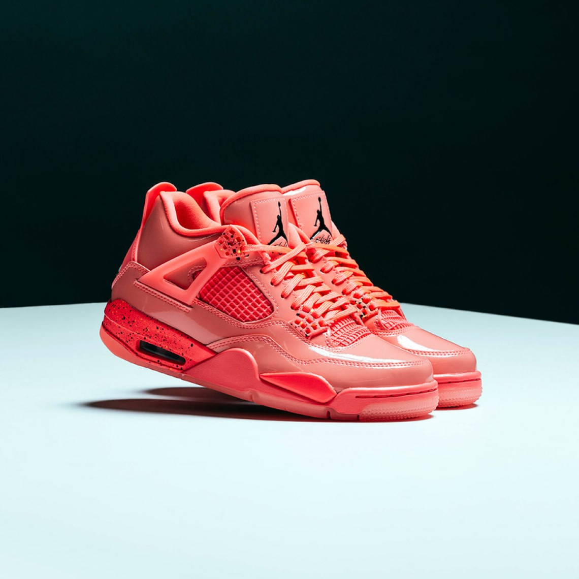 "222c7551a9f6 Air Jordan 4 ""Hot Punch"" Among the Silhouette s First 30th Anniversary  Releases"