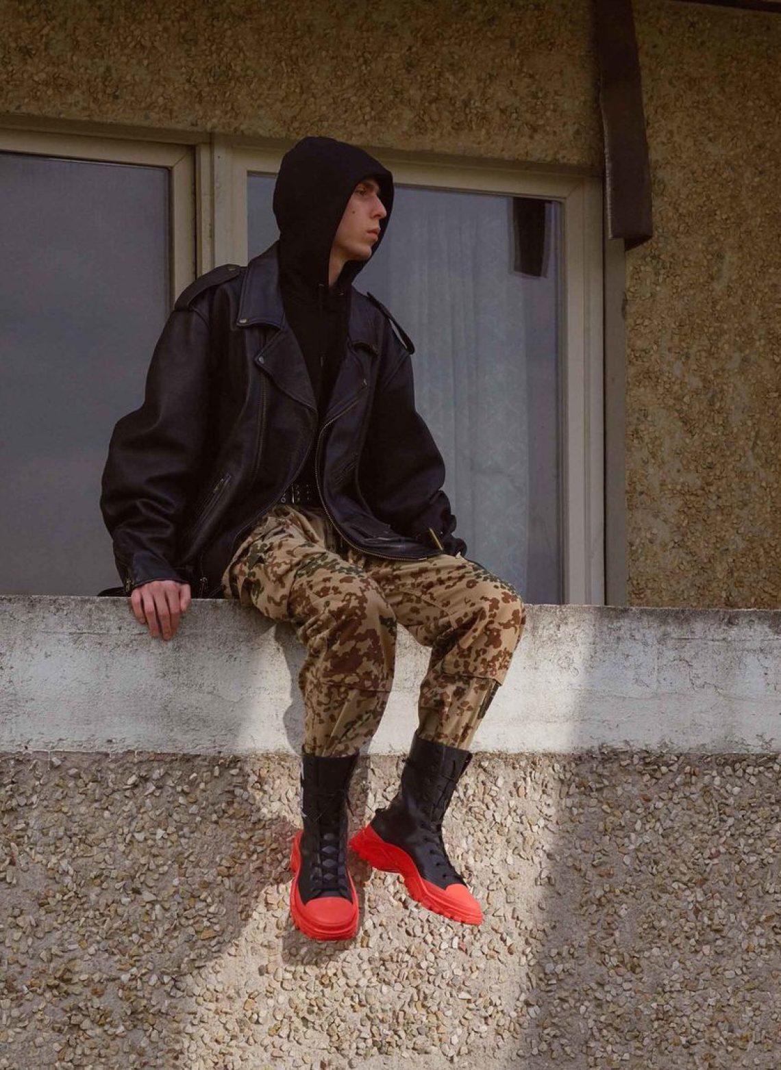 Raf Simons x adidas Detroit High