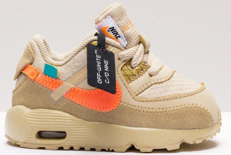 """Off-White x Nike Air Max 90 """"Desert Ore"""""""