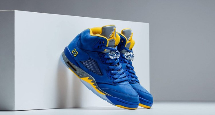 "Air Jordan 5 ""Laney"""